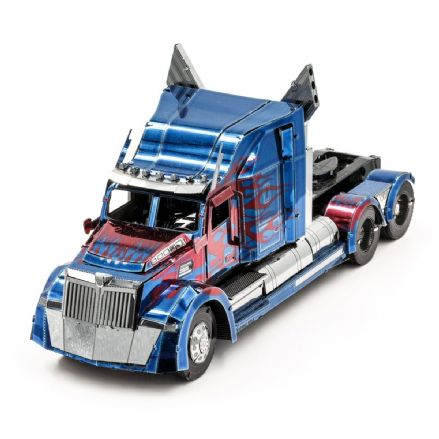 Metal Earth IconX Optimus Prime Western Star 5700 Truck